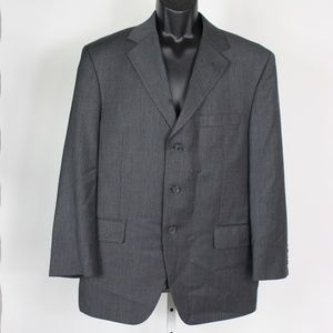 Ultimo Uomo 2 piece gray wool cashmere suit